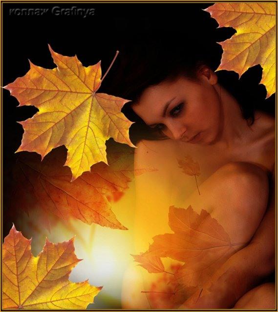 Наша ль осень рдеет кленом
