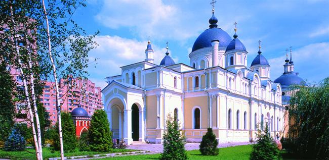 Покровский Ставропигальный Монастырь.