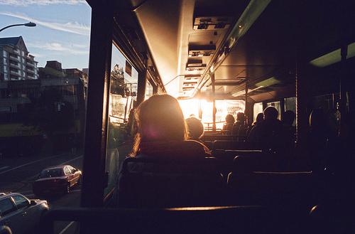 случайные фото девушек в автобусе