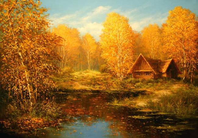 Осень тёплая здравствуй милая