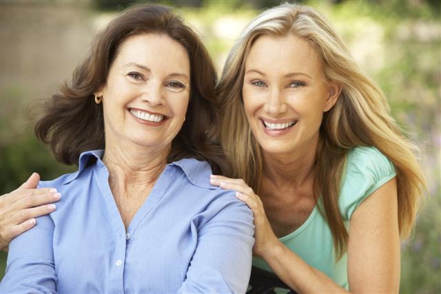 фото матери и дочери