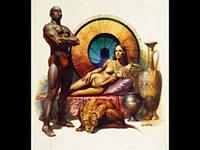 Царица с рабом