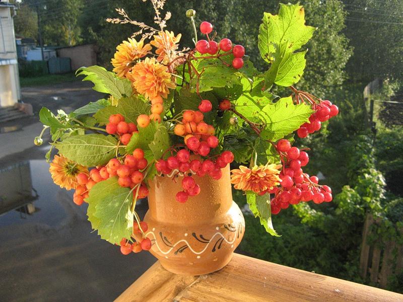 Как сделать своими руками цветы из кленовых листьев своими руками фото 838