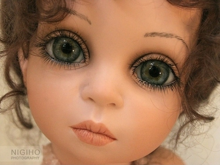Глаз для кукол своими руками