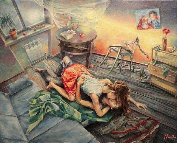 Красивые картинки парень и девушка обними меня