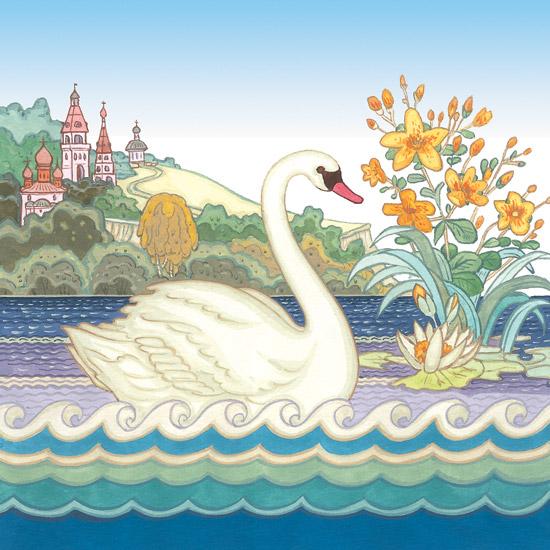 лекарственные картинки из сказок про лебедя открыла для себя