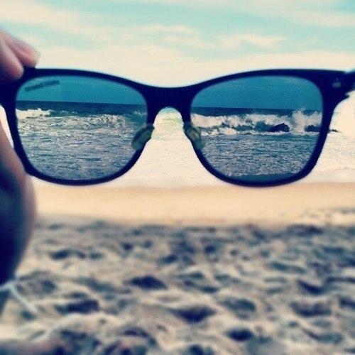 фото на море в очках фото
