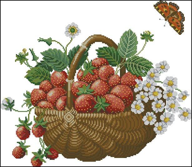маленькие схемы фруктов