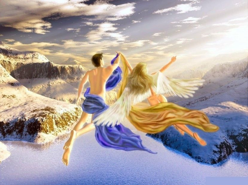 Во сне летать по небу