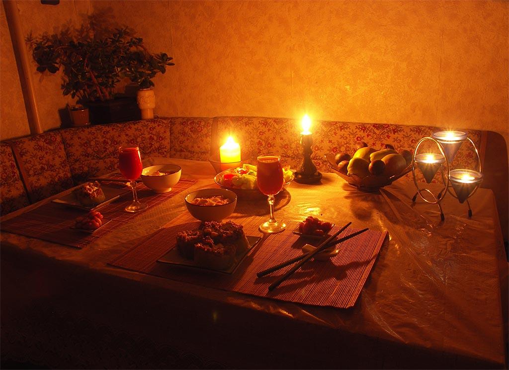 Как сделать романтический ужина дома 122