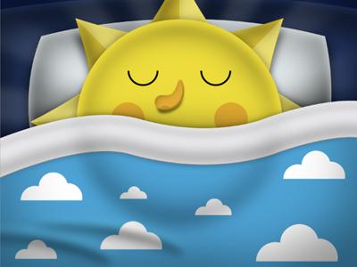 Юбилеем, открытка как спалось солнышко