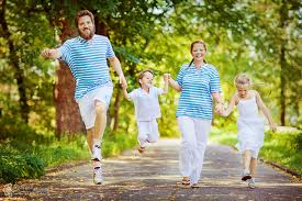 дочка с папой мама с сыном