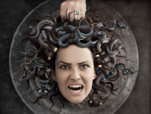змея женщина картинки
