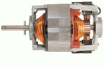 Щёточные электродвигатели состоят из якоря с коллектором , статора с полюсными катушками и...