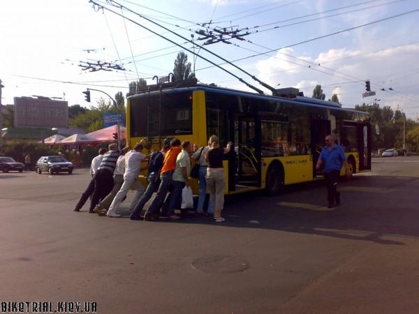 Продолжаю получать претензии и предложения по работе общественного пассажирского транспорта в городе Сумы.