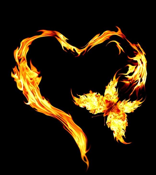 Открытки пламя, сделать