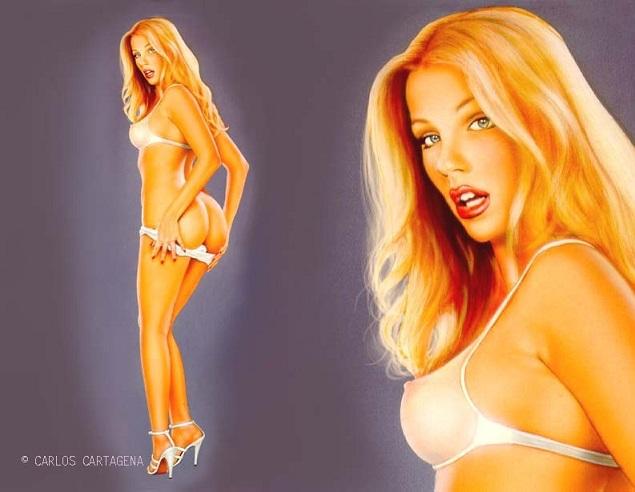 фото голых дырочек девушек в сперме