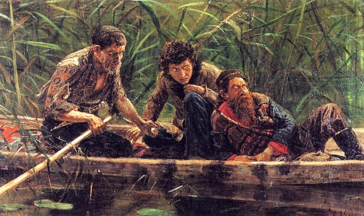 драма лодка текст