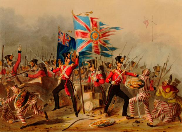an introduction to the war between england and united states in 19th century