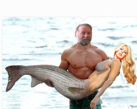 пьяные рыбаки и русалка