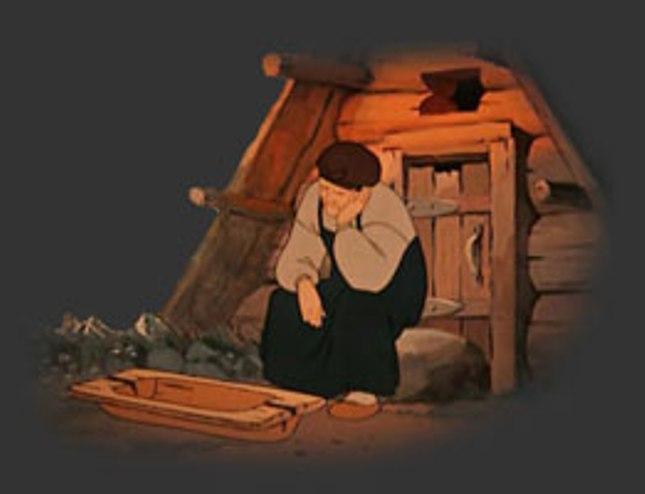 старуха из сказки о рыбаке и рыбке разбитое корыто