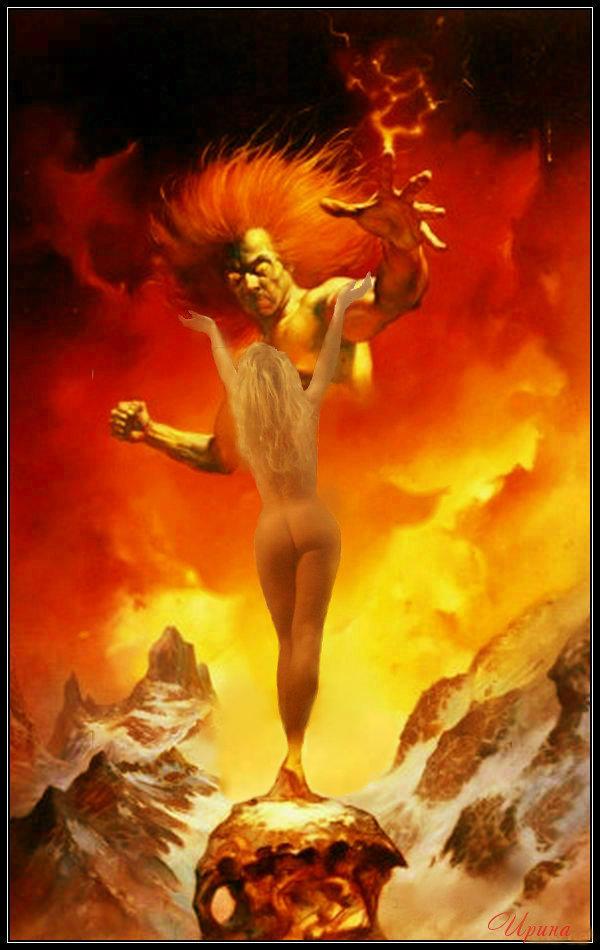 картинки демона ангела и любовь