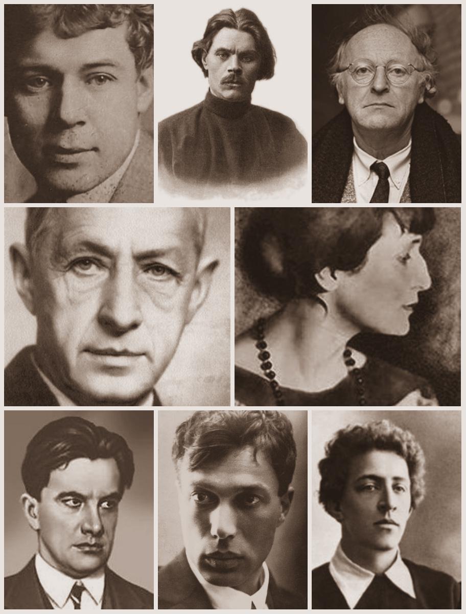 Поэты и писатели серебряного века фотографии