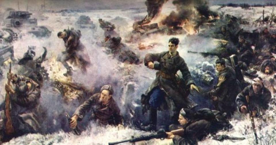 Пока мы помним прошлое-у нас есть будущеео героях былых временв россии вспоминают подвиг героев-панфиловцев