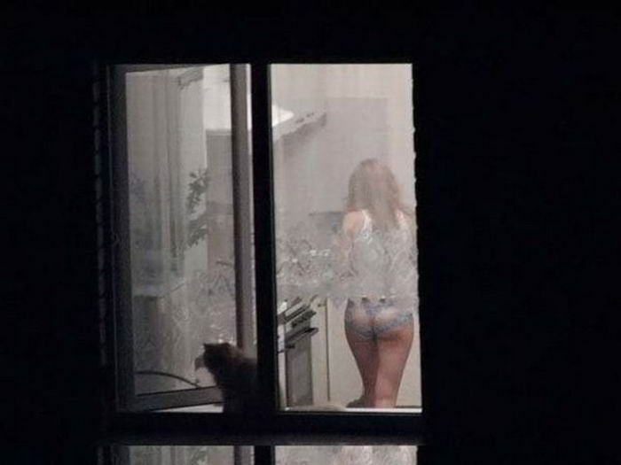 Фото подглядывание через окна фото 65-162