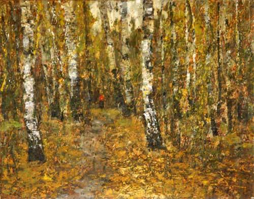 И как этот же самой лес хорош поздней осенью