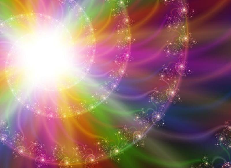 радужный свет эзотерические открытки живут