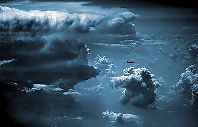 Полёты во время грозы Ваши ощущения?! • Форум Винского