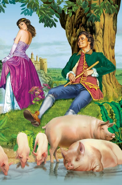 Свинопас и принцесса картинка