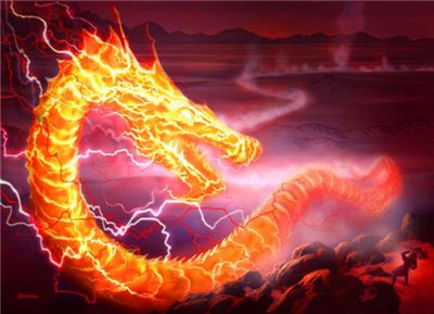 Картинки по запросу огненный змей картинки