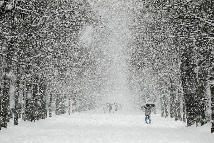Картинки снег идет