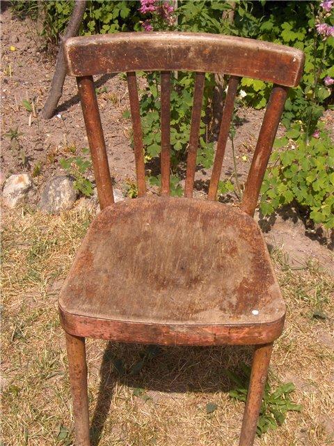 Как отреставрировать старые стулья своими руками фото