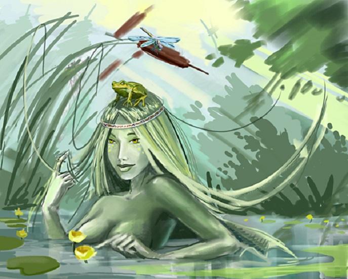 картинки про кикимору болотную оказался одной