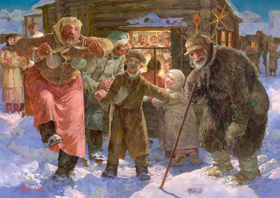 Славянский праздник новый год