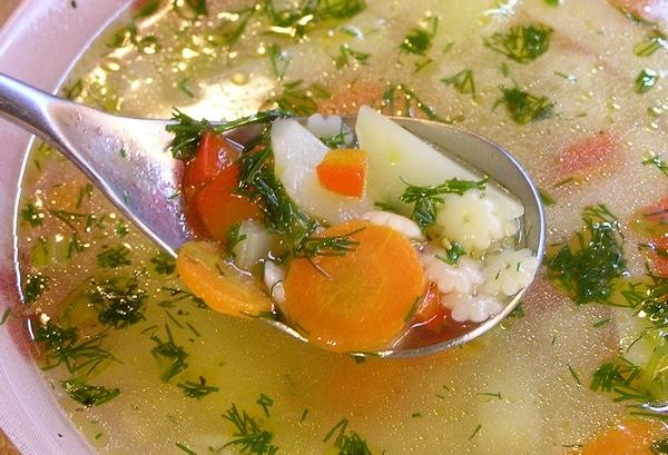 Овощные супы рецепты с фото от года для детей