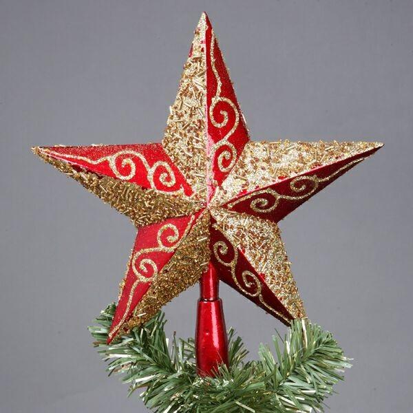Как сделать своими руками звезду на верхушку елки