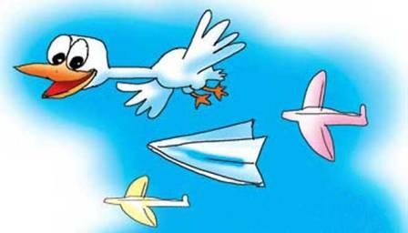 Скоро 25 апреля - День бумажного самолётика.