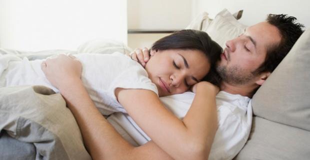 фото бывший жены спит
