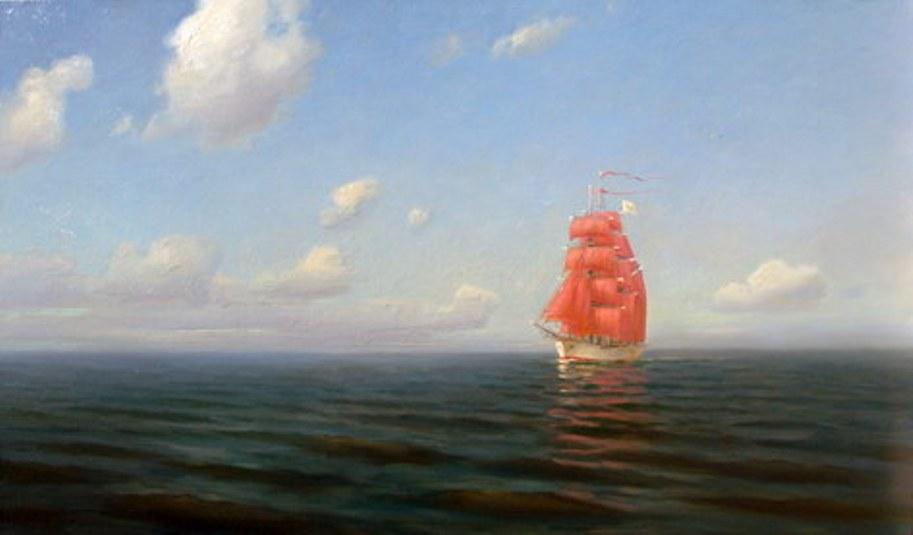 и.тургенев лодка причалила к берегу.лунный
