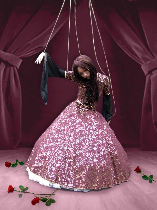 Кукла марионетка для девочек