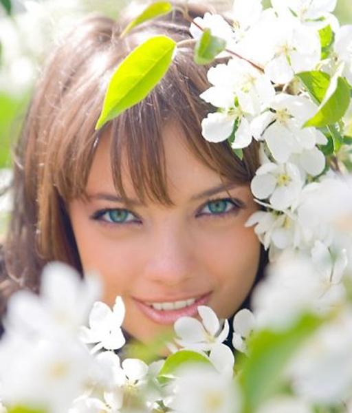 Картинки по запросу картинка девушка весной