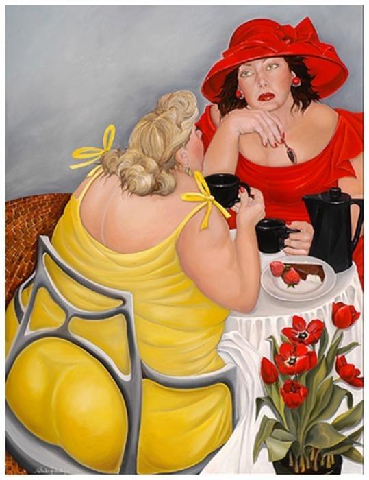 Веселые картинки про толстушек с надписями, картинки надписями