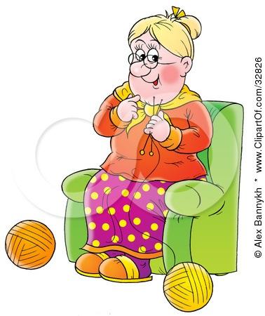 Открытки с изображением бабушек