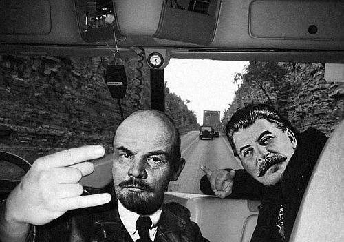Смешные картинки сталин ленин, красивые открытки