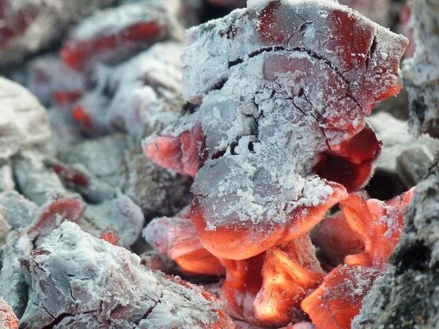 Картинка пепел, угли, огонь 2560x1600, фото 60864