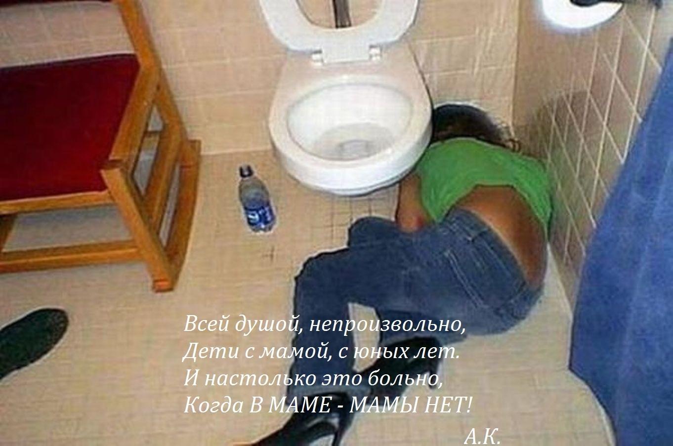Пьяная баба себе не товарищ 6 фотография